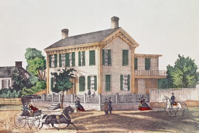 Abraham Lincoln's (1809-65) Residence