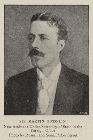 Sir Martin Gosselin