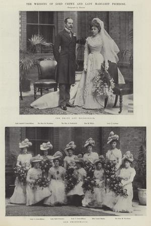 The Wedding of Lord Crewe and Lady Margaret Primrose