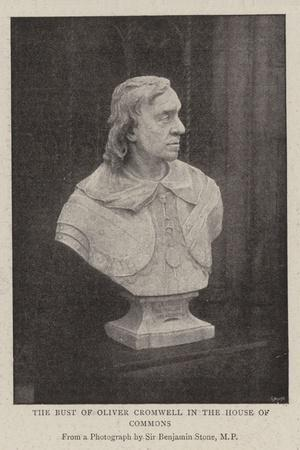 The Bust of Oliver Cromwell in the House of Commons