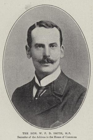 The Honourable W F D Smith