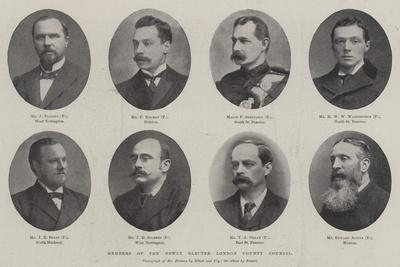 Members of the Newly Elected London County Council