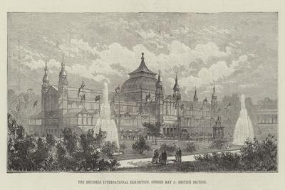 The Brussels International Exhibition, Opened 5 May, British Section