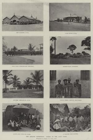 The Ashanti Expedition, Scenes on the Gold Coast