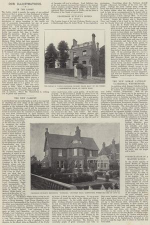 Professor Huxley's Homes