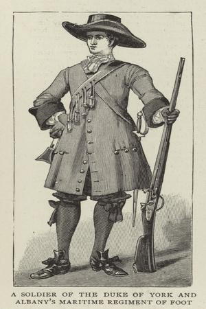 A Soldier of the Duke of York and Albany's Maritime Regiment of Foot