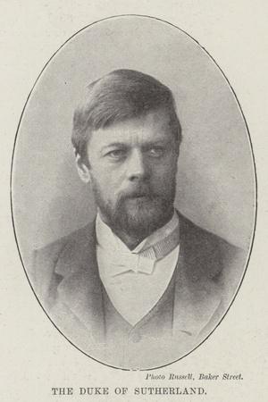 The Duke of Sutherland