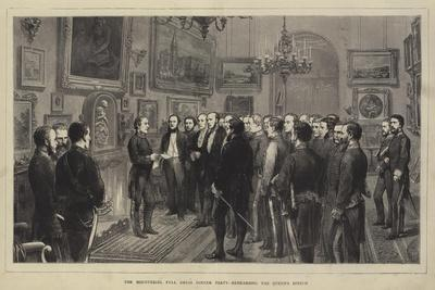 The Ministerial Full Dress Dinner Party, Rehearsing the Queen's Speech