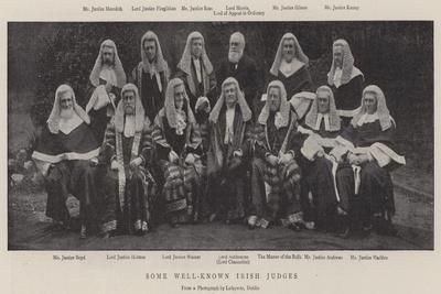 Some Well-Known Irish Judges