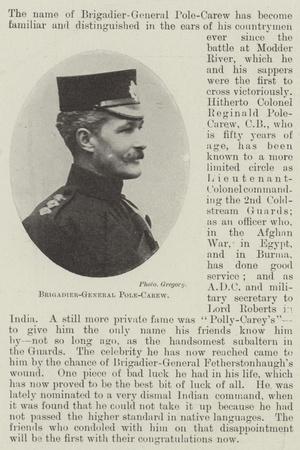 Brigadier-General Pole-Carew