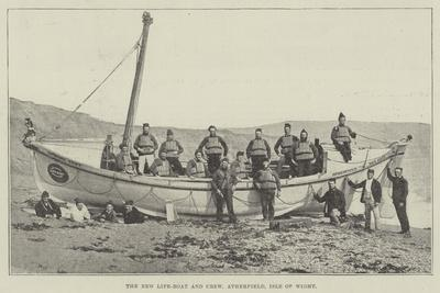The New Life-Boat and Crew, Atherfield, Isle of Wight