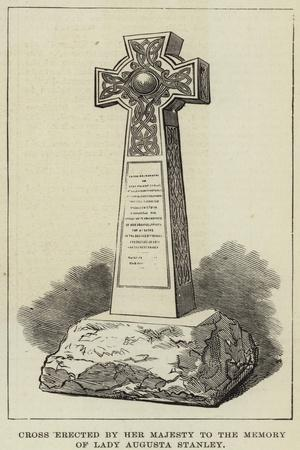Cross Erected by Her Majesty to the Memory of Lady Augusta Stanley
