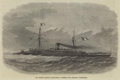 The French Ironclad Rochambeau, Formerly the American Dunderberg
