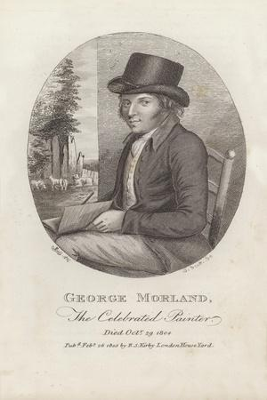 George Morland, the Celebrated Painter, Died 29 October 1804