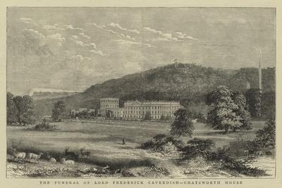 The Funeral of Lord Frederick Cavendish, Chatsworth House