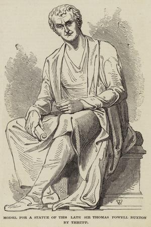 Model for a Statue of the Late Sir Thomas Fowell Buxton by Thrupp