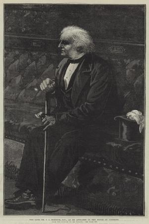 The Late Mr J a Roebuck, as He Appeared in the House of Commons