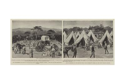 Encampment at Inyati of the British South Africa Company's Troops