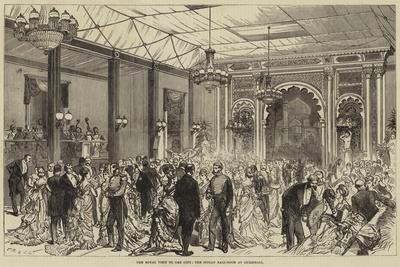 The Royal Visit to the City, the Indian Ball-Room at Guildhall