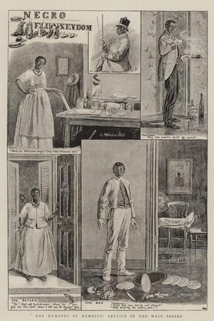 The Humours of Domestic Service in the West Indies