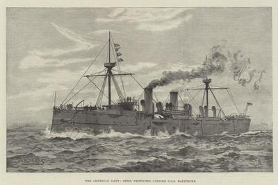 The American Navy, Steel Protected Cruiser USS Baltimore