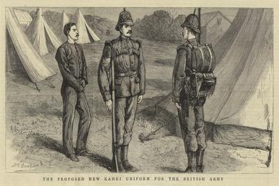 The Proposed New Khaki Uniform for the British Army