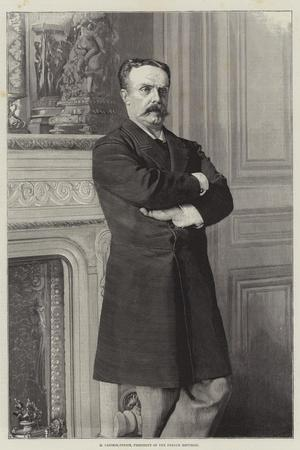 M Casimir-Perier, President of the French Republic