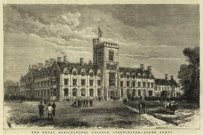The Royal Agricultural College, Cirencester, South Front