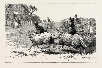 The Farmer Soon Heard Where His Sheep Went Astray, 1890