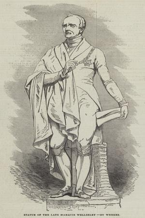 Statue of the Late Marquis Wellesley, by Weekes