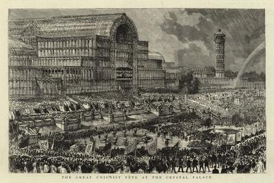 The Great Unionist Fete at the Crystal Palace