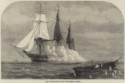 HMS Immortalite Sinking the Derelict Zuleika