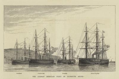 The German Ironclad Fleet in Plymouth Sound