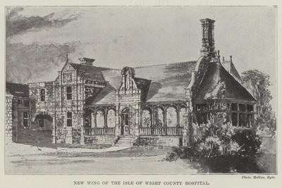 New Wing of the Isle of Wight County Hospital