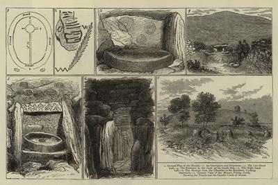 Ancient Sepulchral Mound Near Drogheda, Ireland