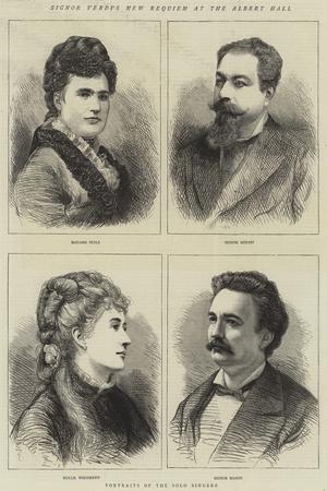 Signor Verdi's New Requiem at the Albert Hall