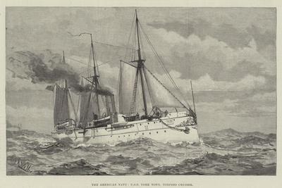 The American Navy, USS York Town, Torpedo Cruiser