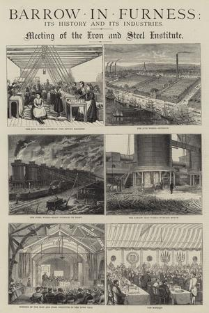 Barrow-In-Furness, its History and its Industries