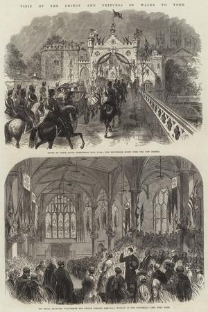 Visit of the Price and Princess of Wales to York