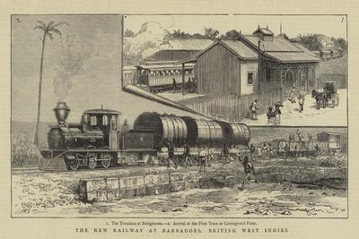 The New Railway at Barbadoes, British West Indies