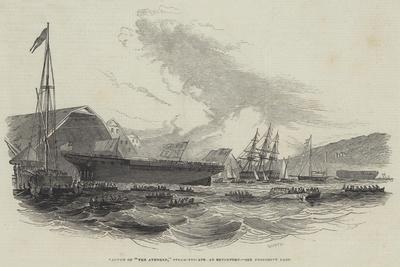 Launch of The Avenger, Steam-Frigate at Devonport