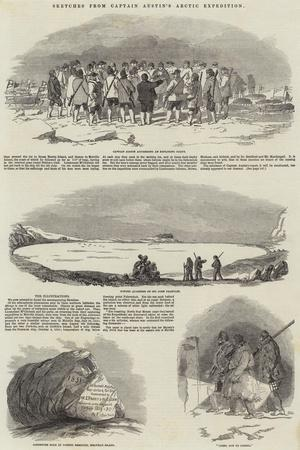 Sketches from Captain Austin's Arctic Expedition
