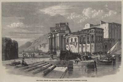 The Porta Felice and Marina, Palermo, Sicily