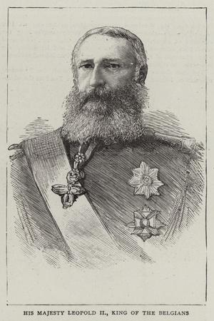 His Majesty Leopold Ii, King of the Belgians