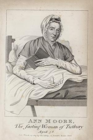 Ann Moore, the Fasting Woman of Tutbury, Aged 58