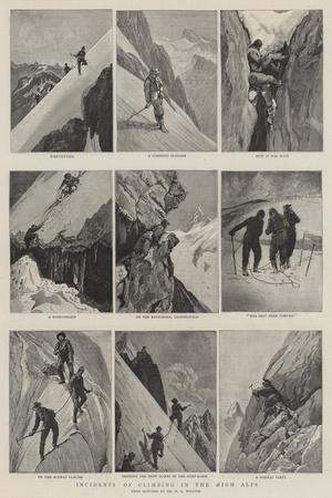 Incidents of Climbing in the High Alps