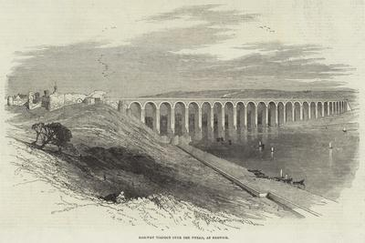 Railway Viaduct over the Tweed, at Berwick