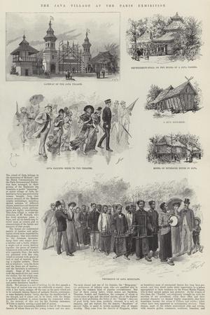 The Java Village at the Paris Exhibition