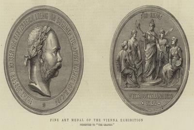 Fine Art Medal of the Vienna Exhibition
