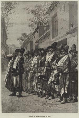 Dewanis, or Begging Dervishes of Khiva